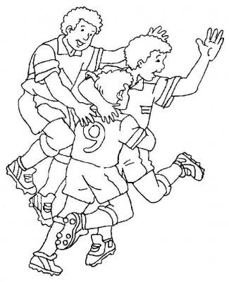 Dibujos De Futbol Para Pintar