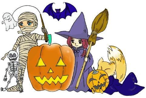 Resultado de imagen de dibujos de halloween de miedo