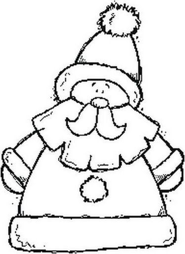 Colorear A Santa Claus